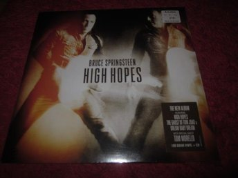 Bruce Springsteen - High Hopes 2LP+cd Inplastad (winnerbäck)