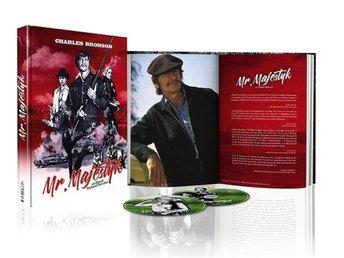 Mr. Majestyk - Limited Mediabook DVD Blu-ray - Charles Bronson - OOP RARE - Norrsundet - Mr. Majestyk - Limited Mediabook DVD Blu-ray - Charles Bronson - OOP RARE - Norrsundet