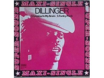 "Dillinger title* Cocaine In My Brain* Reggae Germany 12""-maxi"