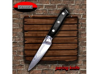 Paring Knife 9 cm Blade Japanese Damascus Stainless Steel vg10  Kitchen Knives