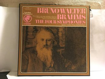 BRAHMS - THE FOUR SYMPHONIES - BRUNO WALTER - 3-LP BOX