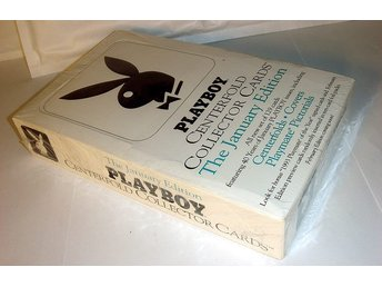 PLAYBOY Collector card BOX 36pkt (360kort) ORIGINALINPLASTAD