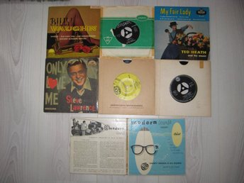 50/60-TAL BILLY VAUGHN, PAUL ANKA, S. LAWRENCE + DUBBEL EP