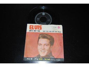 "ELVIS PRESLEY ""JUST TELL HER JIM SAID HELLO"" 47-8041"