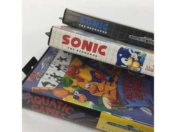 SEGA, Videospel, Sonic The Hedgehog, The Aquatic Games, 3 st
