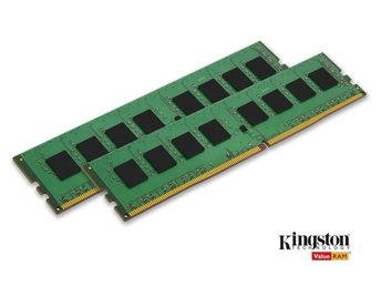 Kingston DDR4 2133MHz 2x4GB Ram minne.
