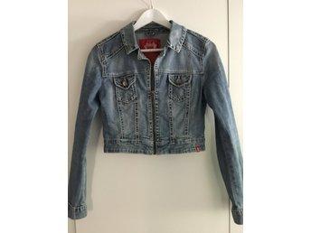 Esprit EDC jeansjacka storlek L (405043364) ᐈ Köp på Tradera
