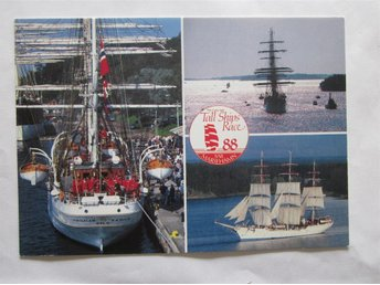 Tall ship race 1988 - CHRISTIAN RADICH