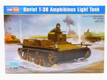 Hobby Boss 1/35 Soviet T-38 Amphibious Light Tank