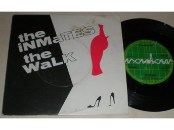 Inmates 45/PS The walk UK 1979
