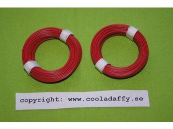 2 röd kabelrullar - Nyland - 2 röd kabelrullar - Nyland