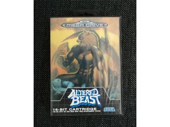 Altered Beast (Sega Mega Drive) Komplett!