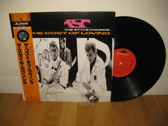 THE STYLE COUNCIL - The cost of loving LP 1987 / Japan