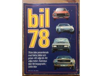 Bil 1978 alla bilar Mycket Bra Skick! bil tidning Tidskrifter - Bagarmossen - Bil 1978 alla bilar Mycket Bra Skick! bil tidning Tidskrifter - Bagarmossen