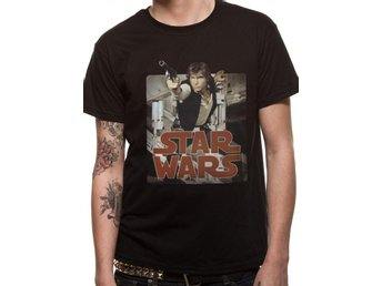 STAR WARS - HAN RETRO BADGE (UNISEX) - 2Extra Large