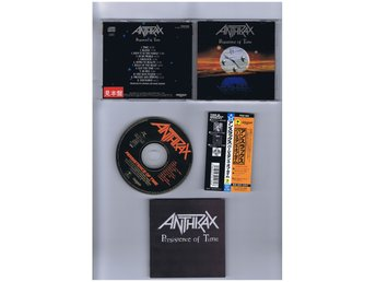 ANTHRAX-Persistence of time(New York metal kings!!!)JAP CD