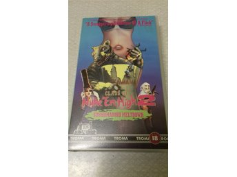 CLASS OF NUKE'EM HIGH 2. TROMA KÖP VHS