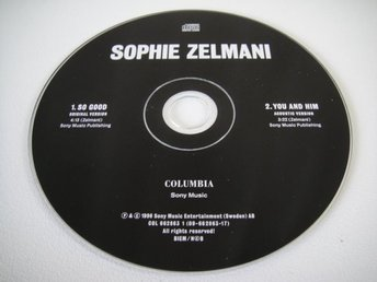 SOPHIE ZELMAN So good CD SINGEL PROMO