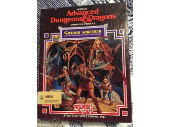 Shadow Sorcerer (Retro, Big box, AD&D, SSI)