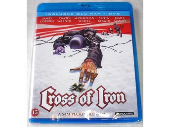 Cross of Iron (Järnkorset) (Blu-ray + DVD) **HELT NY**