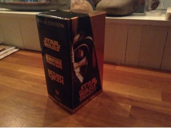 VHS Star Wars Trilogy SpecialEdition