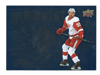 15-16 Upper Deck Full Force Blueprint Niklas Kronwall