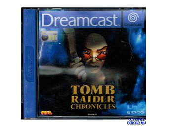TOMB RAIDER CHRONICLES DREAMCAST