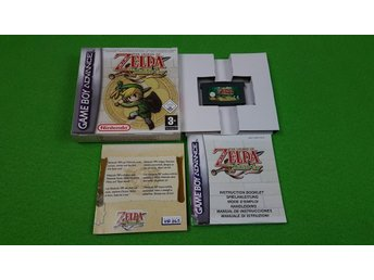 The Legend of Zelda Minish Cap KOMPLETT Nintendo GBA