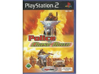 POLICE CHASE DOWN  ( PS2 SPEL)