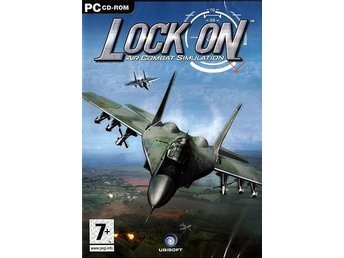 LOCKON - Air Combat Simulation/ PC spel / NY <----