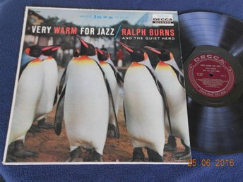 RALPH BURNS and the quiet herd - Very warm for jazz, DECCA DL 9207 USA Orig '58