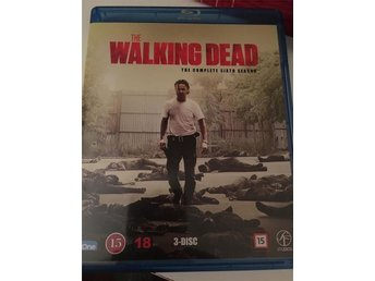 The walking dead säsong 6 Blue ray