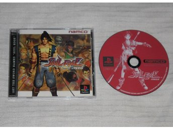 PlayStation/PS1: Soul Edge / Blade (japanskt)