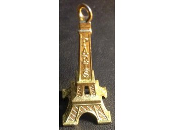 49mm Eiffeltornet antik Eiffel tower Paris Frankrike France