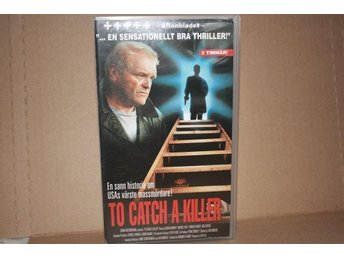 To catch a killer - VHS - Köporiginal