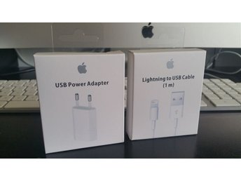 Apple USB-laddare+Laddkabel