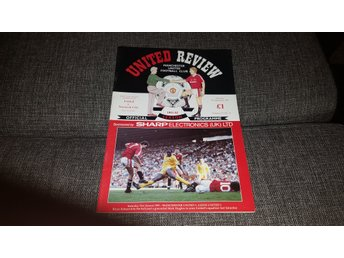 Program Manchester United v Norwich City 91-92