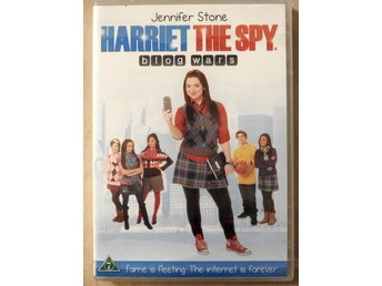 Harriet the Spy: Blog Wars DVD Inplastad slutsåld