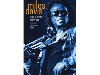 Davis Miles: That's what happened/Live 1987 (DVD)