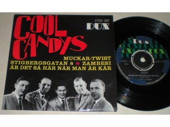 Cool Candys EP/PS Muckar-Twist 1962