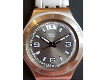 Fin Herr Klocka från Swatch Irony Stainless Steel Patented Water-Resistant