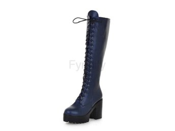 Dam Boots winter warm shoes boot P15636 EUR Blue 34