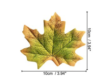 Fall Autumn Wedding Artificial Silk Leaves Maples Crafts Favor Party Fun DIY