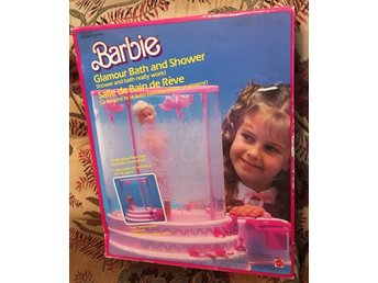 Barbie Glamour Bath and shower från Mattel 1985 - Oöppnad