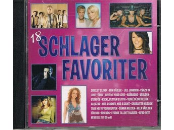 18 Schlager favoriter