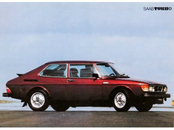 Saab Turbo - Plansch/Poster 30x40