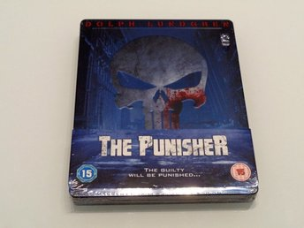 Blu-Ray Steelbook: The Punisher (1989) Zavvi Exclusive