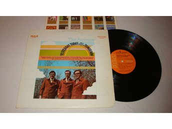 ACCENTS THE - YESTERDAY, TODAY AND A TOUCH TOMORROW 1970 LP