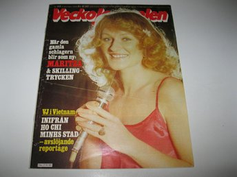 Vecko Journalen 1979-49 Maritza Horn..August Strindberg