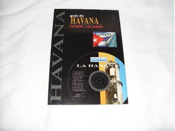 Rese Guide Havana Kuba CD ROM + CD Audio till PC & Mac datorer